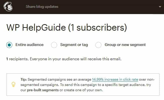 How to Integrate MailChimp with WordPress: A Step by Step Guide (2020) 11