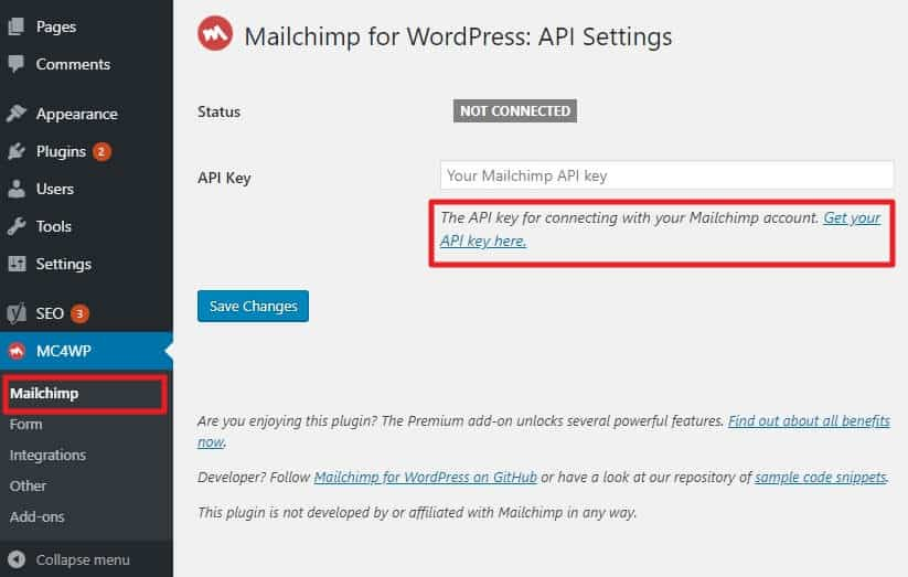 How to Integrate MailChimp with WordPress: A Step by Step Guide (2020) 18