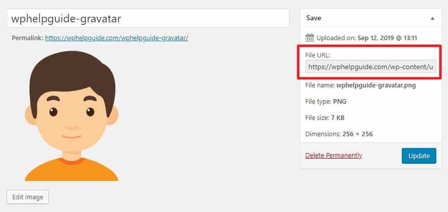 How to change the Default WordPress Gravatar image? 10