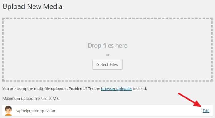 How to change the Default WordPress Gravatar image? 9
