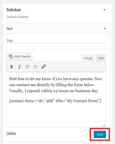 How to Add Contact Form in WordPress Site - Beginner's Guide 16