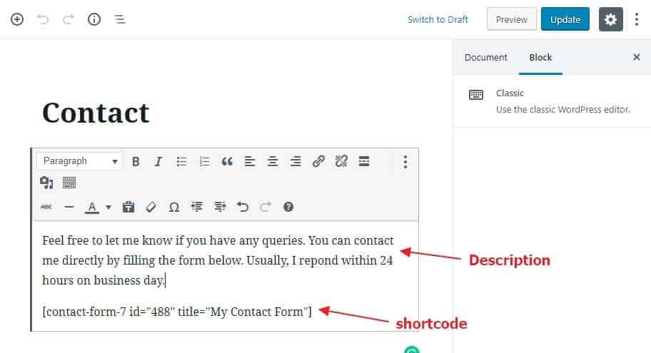 How to Add Contact Form in WordPress Site - Beginner's Guide 14