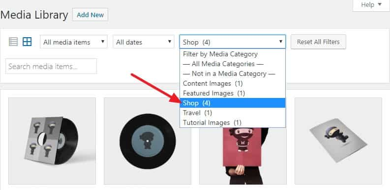 How To Organize Your WordPress Media Library 11