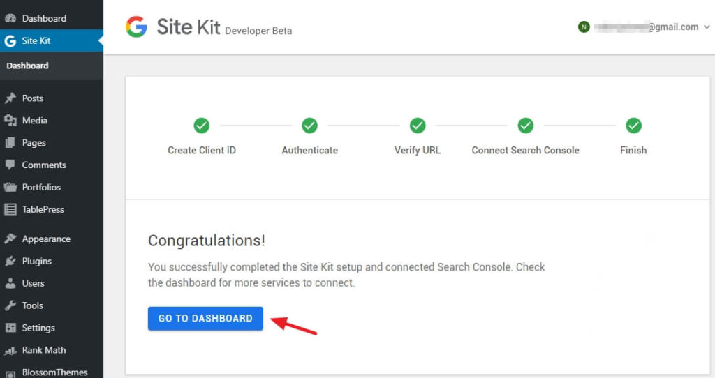 How to install and configure Google Site Kit in WordPress? 13