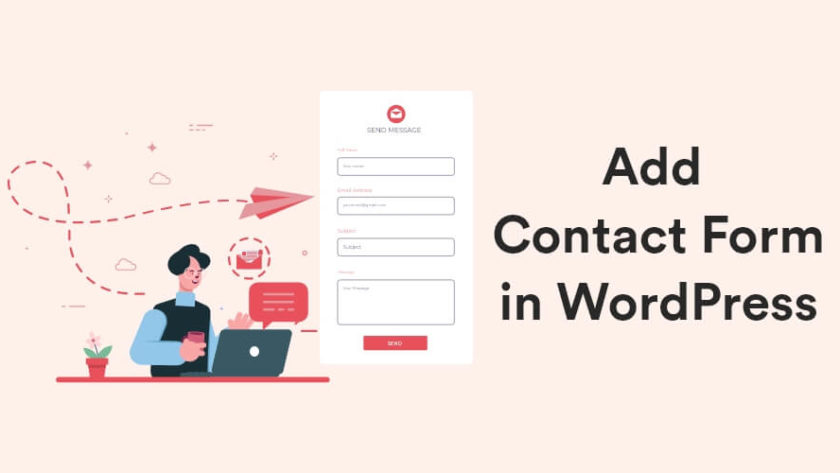 How to Add Contact Form in WordPress Site - Beginner's Guide 1