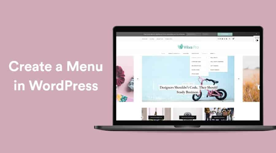How to Create a Menu in WordPress - Beginner's Guide 1