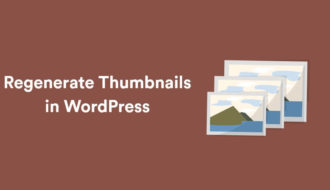 How to Regenerate Thumbnails in WordPress 16