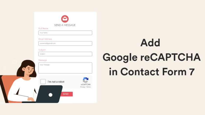 How to add Google reCAPTCHA in Contact Form 7? 1
