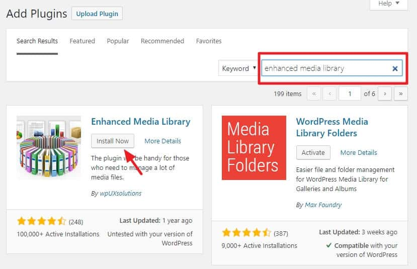 How To Organize Your WordPress Media Library 8