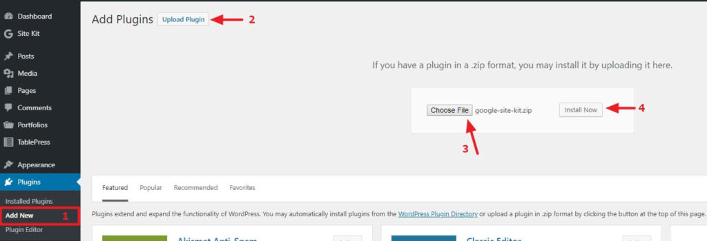 How to install and configure Google Site Kit in WordPress? 3