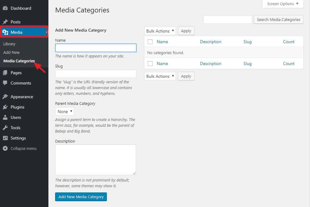 How To Organize Your WordPress Media Library 9