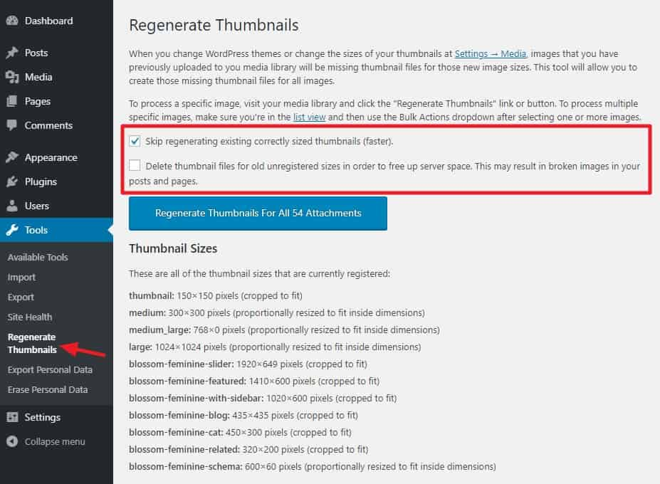 How to Regenerate Thumbnails in WordPress 5