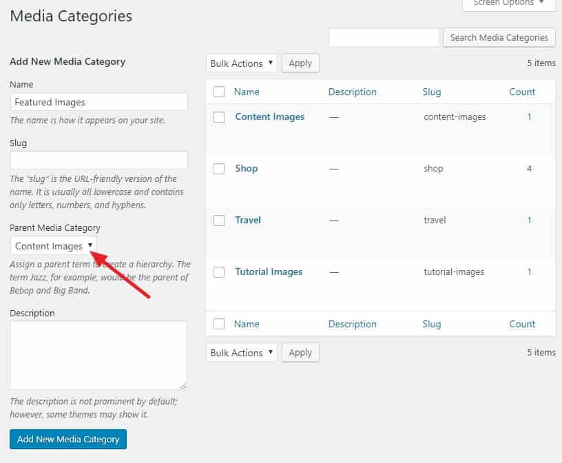 How To Organize Your WordPress Media Library 12