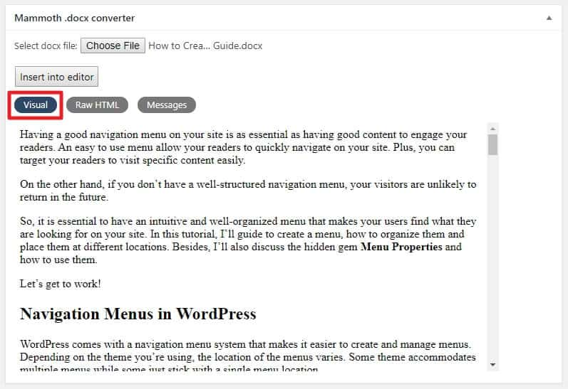 How To Publish Your Content From Google Docs To WordPress 6