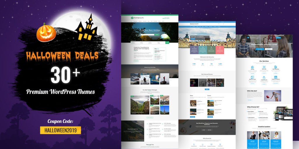 Best Halloween WordPress Deals and Discounts for 2019 3