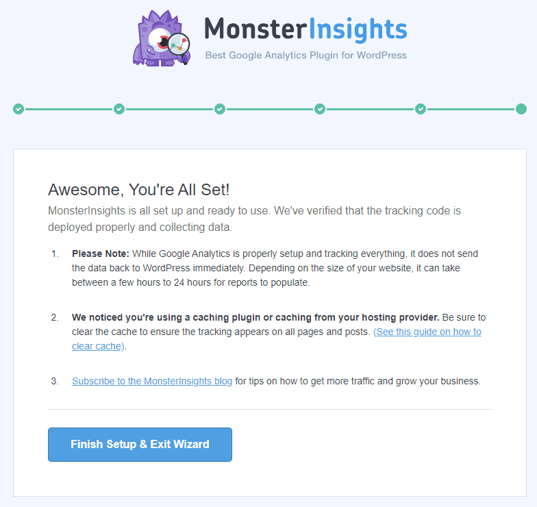 How To Set Up Google Analytics With MonsterInsights 18