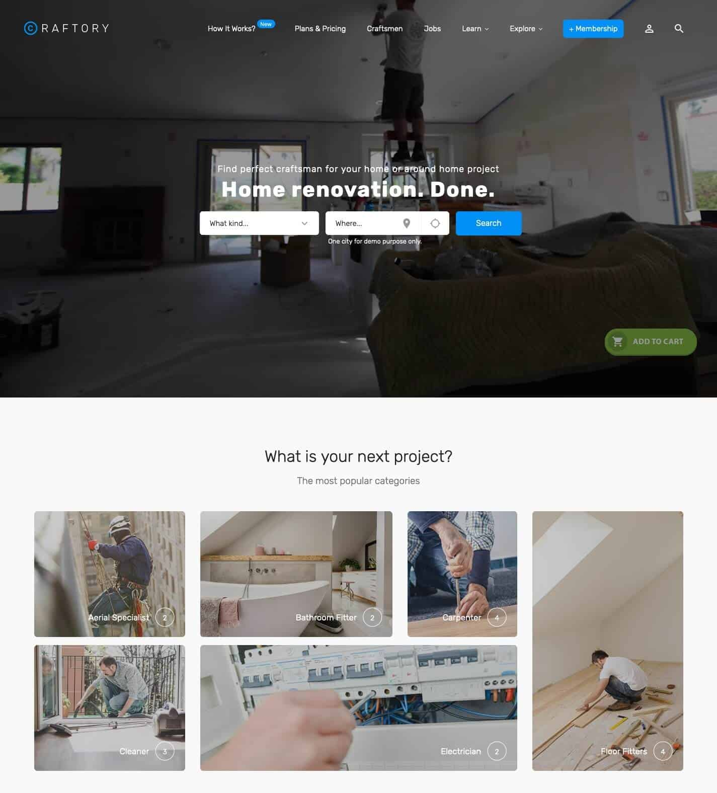 Craftory-WordPress-Theme