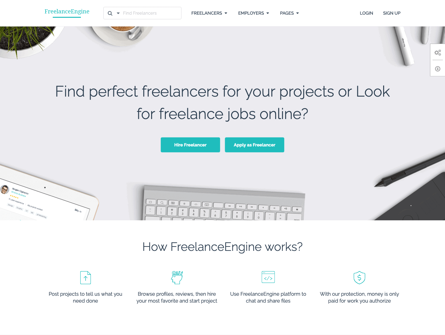 FreelanceEngine-WordPress-Theme
