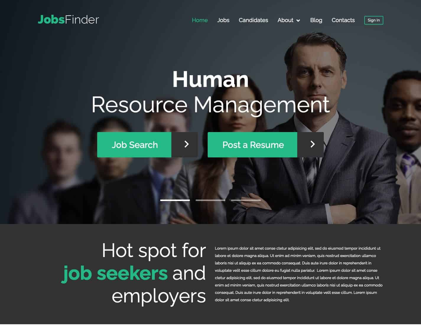 JobsFinder-WordPress-Theme