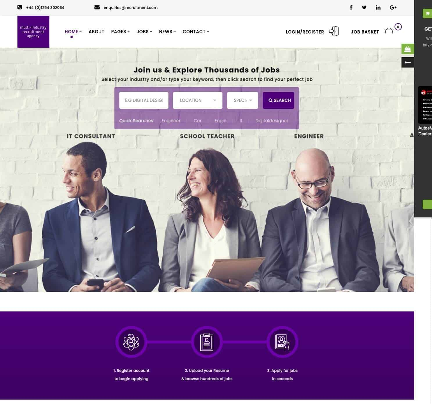 Recruitment-Agency-WordPress-Theme