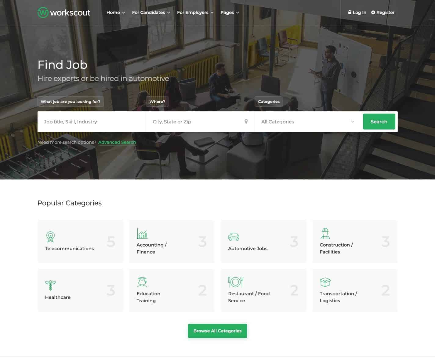 WorkScout-WordPress-Theme